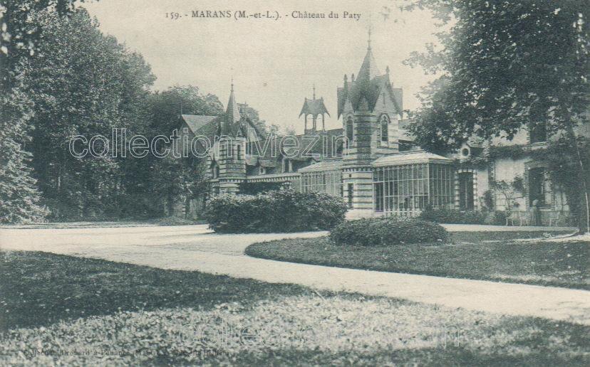 Le château du Patys à Marans